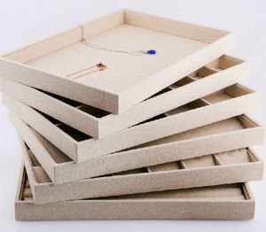 Multipurpose Linen Jewellery Storage Tray pictures & photos