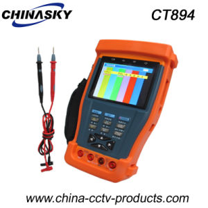 "3.5"" CCTV Tester with 12VDC Output and Digital Multimeter (CT894) pictures & photos"