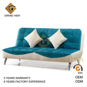 Blue Fabric Upholstery Living Room Sofa (GV-BS-501) pictures & photos