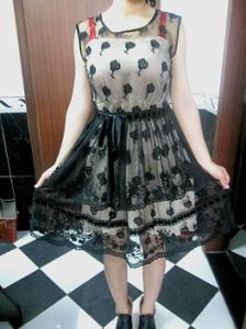 Crochet Cotton Fashion Lace Dress
