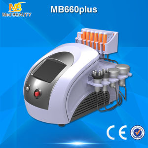 Diode Lipolaser Cavitation Vacuum Liposuction RF Slimming Machine (MB660plus) pictures & photos