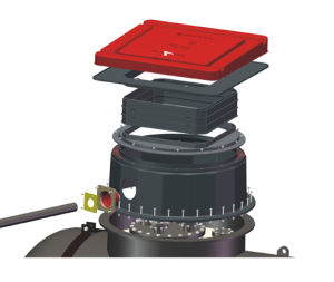 SMC Composite Square Oil Tank Sump System for Gas Station pictures & photos
