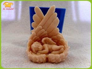Silicone soap mold chicken wings