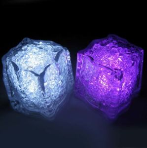 Water Activated LED Lighting Ice Cubes with Logo Printed (3188)