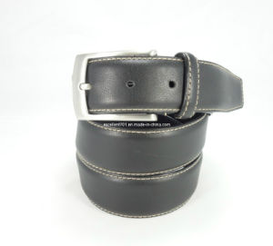 Classical Men′s Genuine Leather Belt (EU8019-35)
