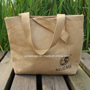 Hemp Rope Woven Cloth Handbag Shopping Bag Gift Bag Packing Bag Xt141130-01
