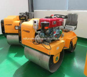 Double Drum Ride on Vibratory Roller Compactor pictures & photos