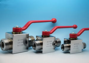 High Pressure Hydraulic Ball Valve Dn20 Pn315 pictures & photos