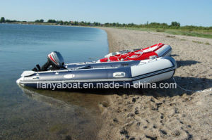 Liya PVC Material Inflatable Speed Boat Famliy Pleasure Boat Inflatable Boat Outboard Motor pictures & photos