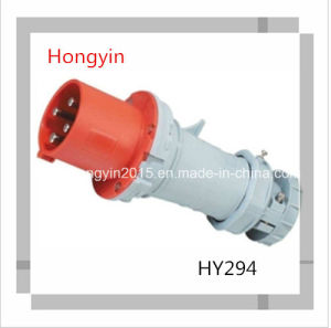CE Hy294 IP44 63A Industry Plug Socket Industrial Connector