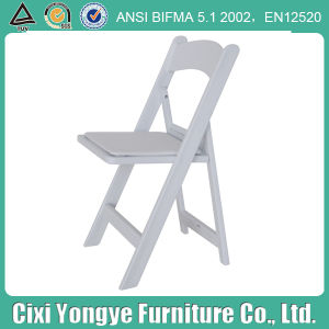 Plastic Resin Folding Chair for Seashore Wedding pictures & photos