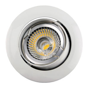 Aluminum Die Casting GU10 MR16 Round Tilt Recessed LED Downlight (LT1200) pictures & photos