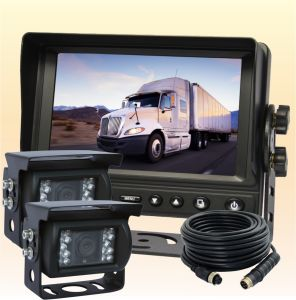 "7"" Backup Camera System with Wired Mounted RV Backup Camera pictures & photos"