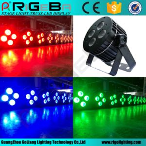 Rgbwy 5in1 Indoor LED PAR Light pictures & photos