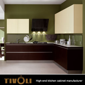 High End Kitchen Cupboards With Quality Raw Material And Nice Finishing Tv 0025