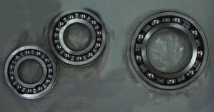 Four Point Contact Angular Ball Bearing pictures & photos