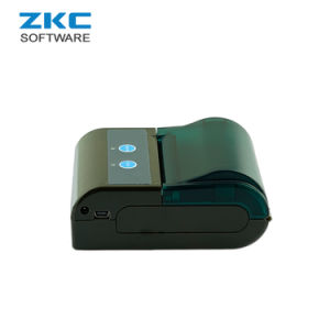 Zkc 5804 58mm Mini Portable WiFi Bluetooth Airprint Ticket Sticker Receipt Thermal Printer pictures & photos