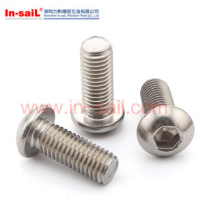 DIN Standard Stainless Steel Hexagonal Head Screws pictures & photos