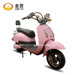 1000W Pink Electric Escooter with Front and Rear Disc Brake