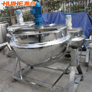 Steam Jacketed Kettle (insulation layer) for Bone Soup pictures & photos