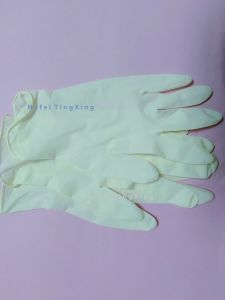 Safety Protection Disposable Latex Examination Gloves
