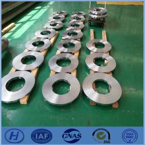 Cold welding aluminum strip
