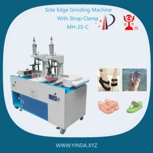 Sole Edge Grinding Machine with Strap Clamp for Flat High Heel (MH-2S-C)