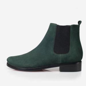 Stylish It Girl Velvet Ankle Boots