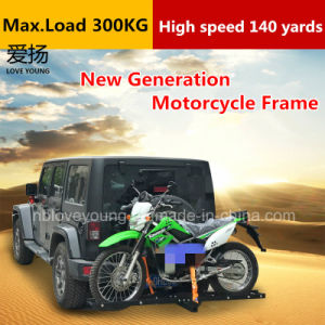 Trailer Hitch Motorcycle Carrier >> Trailer Hitch Mount Rack Ramp Anti Tilt Motorcycle Carrier