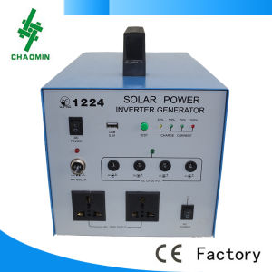 200W with Solar Panel Solar Lighting System