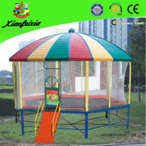 Outdoor Trampoline with Roof for Home (LG059) pictures & photos