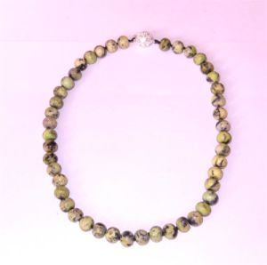 Semi Precious Stone Natural Crystal Beaded Yellow Turquoise Necklace Jewelry Sets pictures & photos