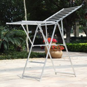 Aluminium Butterfly Shape Garment Rack (158A)