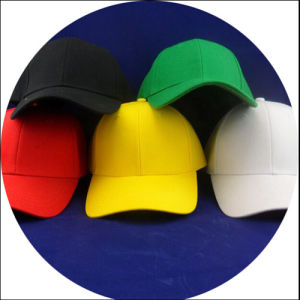 Cotton Twill Sandwich Embroidery Sport Baseball Cap /Hats pictures & photos