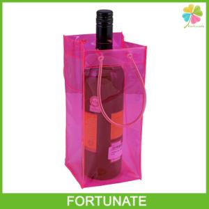 china promotional vinyl tube handle pvc wine bottle ice. Black Bedroom Furniture Sets. Home Design Ideas