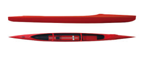 China Sprint 70-85kg 1000m C1 Single Racing Canoe C1 - China