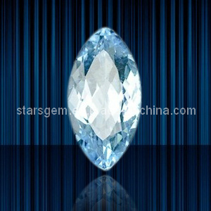 High Quality Marquise Shape Light Aqua Cubic Zirconia pictures & photos