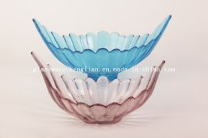 Solid Color Bird-Shape Glass Plate (P-031) pictures & photos