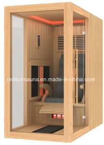 Glass Door and Massage Chair Far Infraredd Sauna (21A-L6)