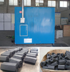 Saving Energy Charcoal Briquettes Hot Air Oven Dryer Machine