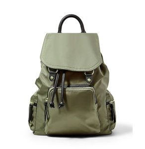 Manufactory Handbags Drawstring Handbag Nylon Travelling Bags Backpack Bag Ld 1101