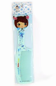 Portable Plastic Comb for Little Girl Cheap Price