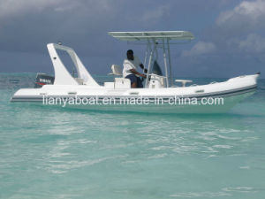 Liya 6.6m Inflatable Fiberglass Sightseeing Boat Tourist Boat pictures & photos