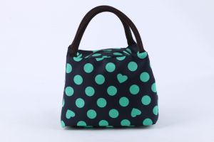 Promotional Factory Direct Sale Printed Lunch Bag Handbag Fashion pictures & photos