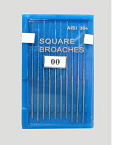 Dental Use 21mm or 25mm 00 0 1 2 3 Square Broaches
