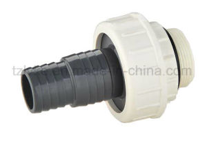 PVC Threaded Union (M*HOSE BARB, F*HOSE BARB) pictures & photos