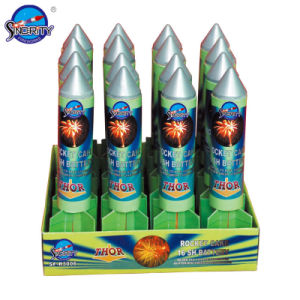 Sf-R3006 Rocket Cake 16 Shots Battery Fireworks