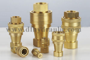 Brass Pull and Push Hydraulic Released Quick Coupling pictures & photos