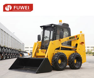 Mini Skid Steer Ws85 Small Loader, China Skid Steer Loader