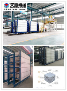 Vertical Type Light Weight Composite Wall Panel Machine pictures & photos